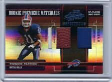 2005 Absolute Memorabilia Rookie Triple Spectrum #229 ROSCOE PARRISH Bills /75