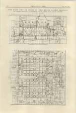 1925 The Motor Liner Aorangi 9 Main Engine Room Plan Section Elevation