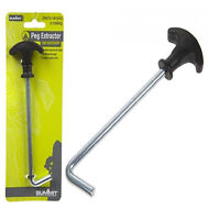 Summit Tent Peg Extractor Puller Camping Steel Stakes Hooks Remover Lifter