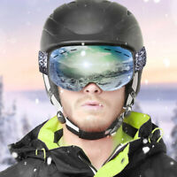 OTG Snowboard Goggles with High Quality Lens & Real Full Mirror Tech for Skiing
