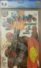 SUPERMAN 4 1987 CGC 9.6 1st BLOODSPORT Suicide Squad 2 Movie 1st Maggie Sawyer