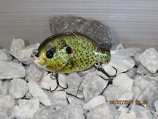 """4"""" FWL GILL wake Redear Sunfish   color 1.0oz bristle tail"""