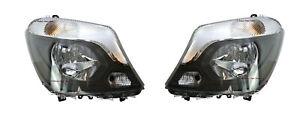 *NEW* HEAD LIGHT LAMP (HALOGEN) suit MERCEDES BENZ SPRINTER 2013-2018 PAIR LH+RH