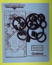 1995 Gottlieb Waterworld pinball rubber ring kit