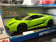 RARE Maisto 1:18 Scale Diecast Model - Lamborghini Gallardo Superleggera (Green)