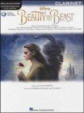 Beauty and the Beast Play-Along for Clarinet Music Book/Audio Movie