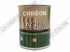 CHREON LAQUA - OPACO - COLORATO - 3 lt - SMALTO ALL'ACQUA