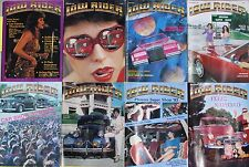 "Lowrider New 1983 O.G. "" Set Of 8 "" Issues $49.65"