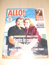 JOHNNY HALLYDAY Allo ! N°3 septembre 1998