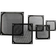 InLine® Lüftergitter, Aluminium Filter, 80x80mm, schwarz