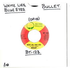 """Soul. Bullet. WHITE LIES, yeux bleus/changements d'esprit. U.S. ORIG 7"""".EX -"""