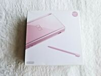 NEW DS Lite Metallic Rose Console Japan NDS *RARE - COLLECTORS ITEM*