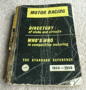 1955-1956 Motor Racing Directory of Clubs and Circuits, The Standard Reference