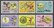 Liberia - 1976, Olympic Games, Montreal set - CTO - SG 1270/5 (h)