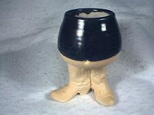 Five Bridges Inc., Cowboy Boots, Footed, Glazed Cup