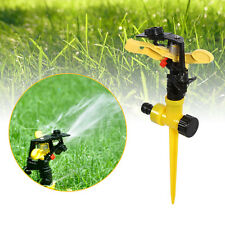 360° Adjustable Lawn Sprinkler Head Garden Grass Metal Impulse Water Sprayer JJ
