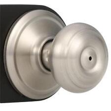 Privacy Door Knob Lock Home Interior Bedroom Bathroom Basement PushButton Nickel