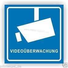 Aufkleber,Videoberwachung,Video,Kamera,Kameraüberwachung,Anlage 90X90mm VA31