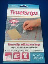 Grace Truecut Truegrips True Grips Non-Slip Quilt Ruler Grips  3 Pack 15 Perpack