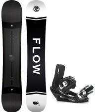 2020 FLOW Gap 159 WIDE Snowboard+Bindings NEW SHAPE!