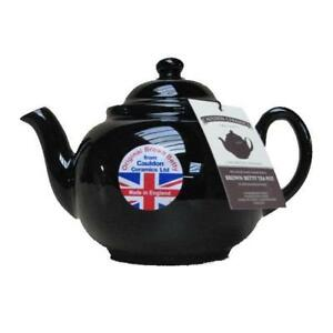 Brown Betty Teapot 4 cup - U.K. Made, Tea Pot by Cauldon Ceramics