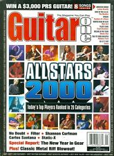 2000 Guitar One Magazine: All-Stars Top Ranked Players in 20 Categories
