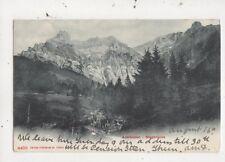 Adelboden Stegbruecke Switzerland 1906 U/B Postcard 956a