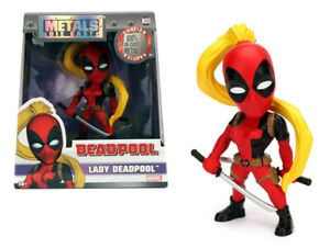 ⭐⭐⭐ NIB Marvel Lady Deadpool Metals Die Cast Figure Jada Toys 2016 ⭐⭐⭐