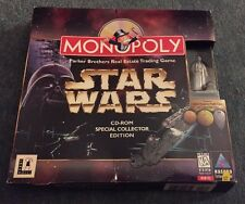 MONOPOLY Star Wars COLLECTOR'S EDITION Pc Cd Rom - Wide Box (original)