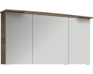 Spiegelschrank pelipal Xpressline 4010 Eiche Ribbeck 140 cm ohne Kranzleuchte