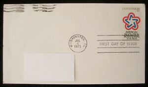United States Stamps 1971 AMERICAN REV. BICENTENNIAL First Day of Issue Stamp