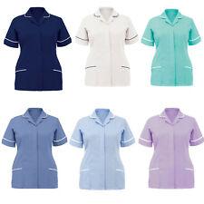 Ladies Womens Health Tunic Nurese Healthcare Maid Nurses Therapist Uniform