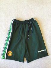 Manchester United Umbro Green Black Goalkeeper Shorts 1988/99 Schmeichel Y 164cm