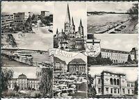 Ansichtskarte Bonn - Bundeshaus, Münster, Universität, Marktplatz, Rathaus, u.a.