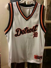 Detroit Tigers SEWN & EMBROIDERED Tank Top Jersey Adult M Cabrera Opening Day