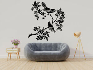 Tree Sticker, Wall Vinyl Decal,Tree Custom Decal,Nature Decal,Plant Art, GE005