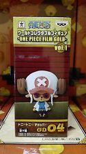 ONE PIECE WCF FILM GOLD Vol. 1 FIGURA FIGURE 04 TONY CHOPPER NEW NUEVA