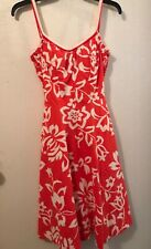 Vintage 60s DeWeese Sundress (Built In Bra & Pockets) by SWIM AND SUN, Size 10.