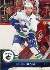 17/18 UPPER DECK BASE #177 HENRIK SEDIN CANUCKS