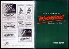 EMERALD FOREST 1985 Powers Boothe, Meg Foster, Charley Boorman UK PRESSBOOK