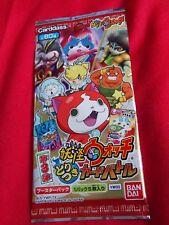 Yo-Kai Watch 3 / TRADING CARDS / 5 cards Booster pack YW03 BANDAI / UK DESPATCH