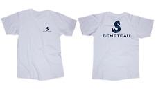 Beneteau sailboat boat logo white T-shirt