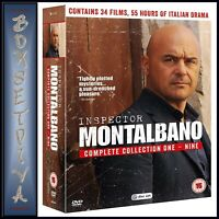 INSPECTOR MONTALBANO COMPLETE COLLECTION 1 - 9  **BRAND NEW DVD BOXSET**
