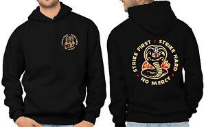 Cobra Kai Hoodie Karate Kung Fu Retro TV Show MMA GYM Martial Arts Pullover FB
