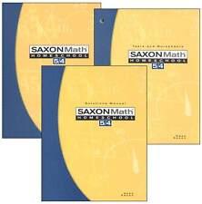 Saxon Math 5/4 Homeschool Kit w/Student Text, Test/Worksheets & Solutions Manual