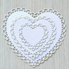 Lace Heart Metal Cutting Dies Stencil Embossing Craft Cuts Stamps DIY Cards