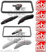 Genuine Febi Bilstein Upper Lower Timing Chain Kit BMW 3 E90 E91 318d 320d N47