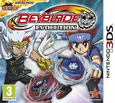 Nintendo 3DS/2DS Game Beyblade Evolution 3D NEW