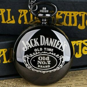"""Mens Pocket Watch """"Jack Daniels Ole No. 7"""" From the Folks of Lynchburg Tennessee"""