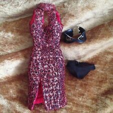 Fashion Royalty Color Infusion Zara Wade Doll Dress with belt and panties